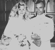 Love Story - Harold and Bette's wedding picture
