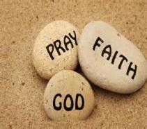 pray faith God rocks