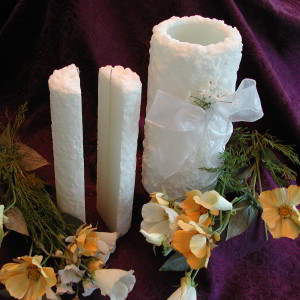 3-part Oneness Wedding Candle with FREE Newlywed Kit